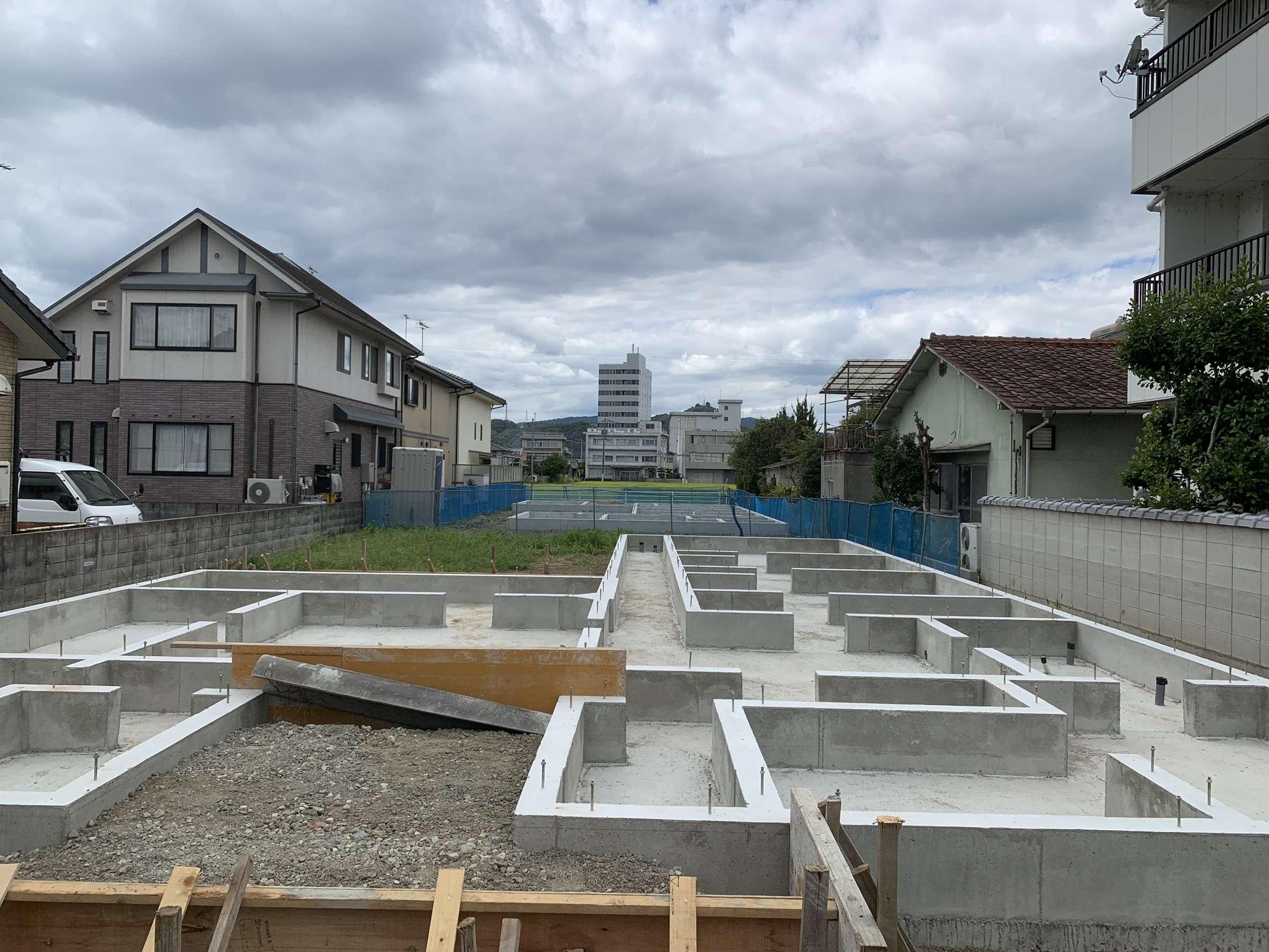 広島県福山市 新築工事 基礎工事
