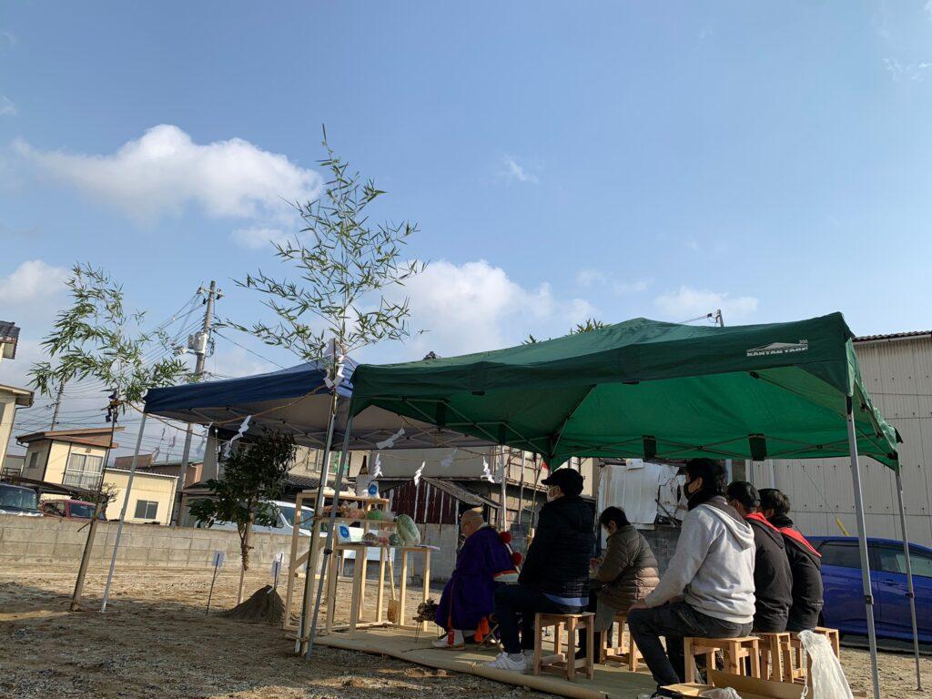 新築工事 地鎮祭